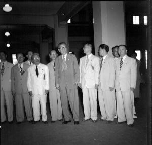 032 民國三十九年八月十四日僑委會酒會款待菲律賓華僑台灣訪問團