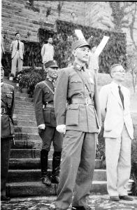 037 民國三十二年六月十四日蔣中正委員長在聯合國日檢閱各國國旗大遊行