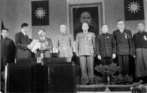 041 民國三十五年十一月二十二日國民大會主席團產生