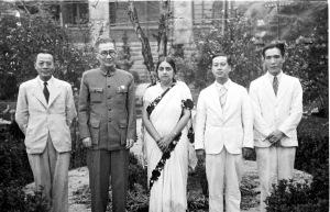 056 民國三十年八月二十五日吳秘書長鐵城招待印度國民大會代表戴維夫人