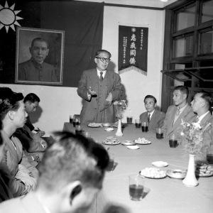 066 四十一年十一月二十一日華僑協會招待港華籃球隊吳鐵城致詞